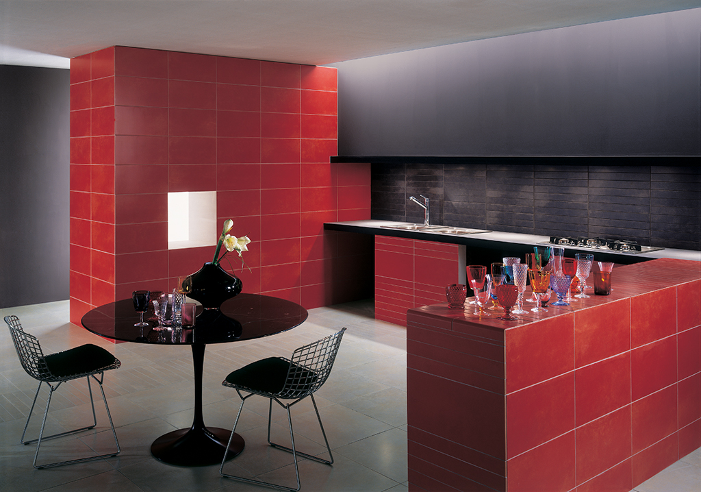Faience Metro Rouge. Finest Pose Faience Metro Noir Best Ideas ...