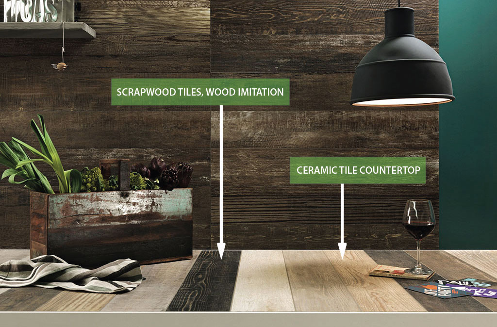Reasons Why A Ceramic Tile Countertop Will Make You Love Your - Ceramic tile scraps