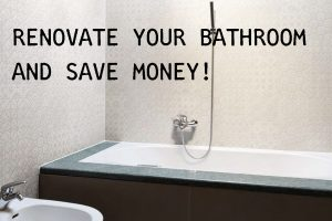 Renovate your bathroom on a shoestring budget
