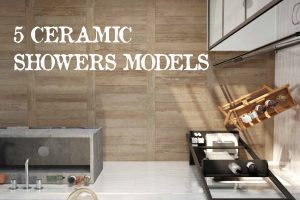 5 Ceramic Shower Models to Renovate your Bathroom