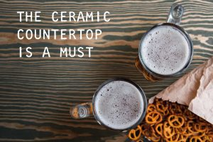 10 reasons why a ceramic tile countertop will make you love your kitchen more than ever