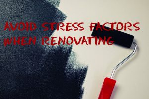 Avoid stress factors when renovating  Copy